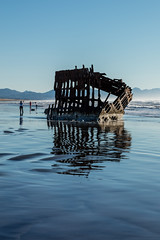 2016-01-10 - Peter Iredale Shipwreck-20 (www.bazpics.com) Tags: ocean sea usa beach water oregon america skeleton sand ship pacific or wave peter shipwreck frame hull wreck iredale