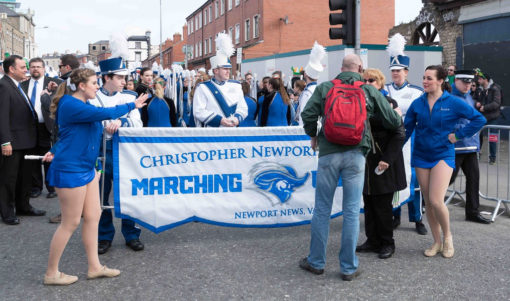 Christopher Newport University Marching Captains-112405
