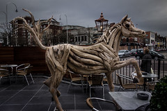 Horse Sculpture...angle 2 (paul_taberner_photography) Tags: horses sculpture art southport lordstreet