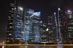 Marina Bay skyline at night 1 (timlam18) Tags: urban water marina nikon singapore asia noflash marinabay d600
