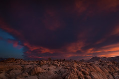Eye In The Sky (Eric Gail: AdventuresInFineArtPhotography) Tags: california ca pink sunset sky nature photoshop canon landscape photo interestingness interesting photographer purple picture explore software nik lightroom adjust infocus alabamahills cs6 70d topazlabs ericgail canon70d 21studios