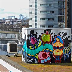 Rotterdam Graffiti : CES53 (Akbar Sim) Tags: holland netherlands graffiti rotterdam nederland rotjeknor ces53 akbarsimonse akbarsim