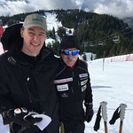 Bob Walton and Bruce Teck U16 Open SL at Grouse Mountain, March 4-6/16 PHOTO CREDIT: Maria Sederholm