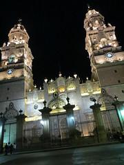 Catedral de Morelia Nocturna lll (Garenez) Tags: morelia colonial catedral ciudad michoacn