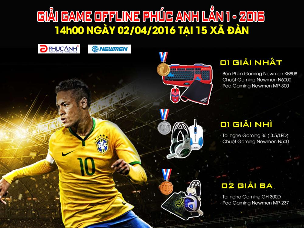 GiẢI ĐẤU GAME OFFLINE PHÚC ANH LẦN 1 -2016