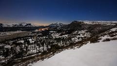 Moonlit Landscape (jpmiss) Tags: sky snow france night stars cotedazur nightscape paca observatory ciel neige fr nuit toiles frenchriviera moolit caussols provencealpesctedazur calern cerga canon6d jpmiss observatoiredelactedazur gi2t