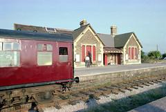 Bitton station (3), 1978 (Blue-pelican-railway) Tags: film station bristol closed railway gloucestershire bitton beeching