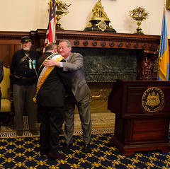 Mayor Kenney and Paul Doris