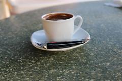 Greek coffee (DML) Tags: bon sea cup coffee greek cafe nice break time tea biscuit pause turkish