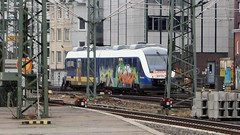 Graffiti (Honig&Teer) Tags: streetart sport train germany graffiti eisenbahn hannover vandalism vehicle treno bombing aerosolart spraycanart traingraffiti trainart erixx honigteer eisenbahngraffiti