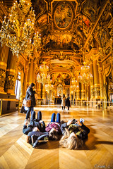 The Best View in Palais Garnier (samquattro) Tags: travel paris france beautiful palais garnier parisopera thegrandfoyer