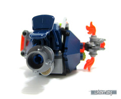 Back view for the Hover Horse (WhiteFang (Eurobricks)) Tags: monster hammer fire volcano book robot wings king power lego bad evil kingdom battle medieval flame knights level future inferno beast ash shield mecha mech baddies nexo