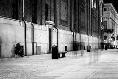 14032016-IMG_8296 (Michiluzzu) Tags: street night walking torino blackwhite walk streetphotography atmosphere bn piemonte ghosts turin piedmont bnw biancoenero