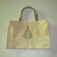 Sacola Ave Maria (D'Sapo) Tags: bolsa marmita ecobag sacola frasqueira lancheira portamarmita lanchbag