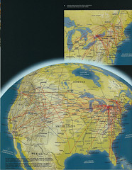 Air Canada-Canadian US routes, April 2000 (airbus777) Tags: usa canada 2000 diagram northamerica network ac tbt aircanada canadianairlines routemap throwbackthursday