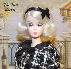 2015 Silkstone Boucle' Beauty Barbie Doll (The doll keeper) Tags: beauty doll barbie boucle platinum 2015 silkstone