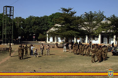 Entrenamiento Eq APOFU a 33 Rg Para-Comando (EMAD Espaa) Tags: mali bamako ttf medicalexercise eutm trainingtaskforce
