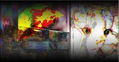 Da lluvioso (seguicollar) Tags: muro animal cat lluvia arte gato artedigital paraguas escena paisajeurbano photomanipulacin imagencreativa artecreativo virginiasegu