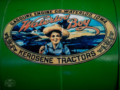 good old times (spline_splinson) Tags: tractor sign de deutschland rust traktor iowa transportation antiquetractor oldtechnology oldtractor badenwrttemberg waterlooboy vintagefarmequipment uhldingenmhlhofen kerosenetractors