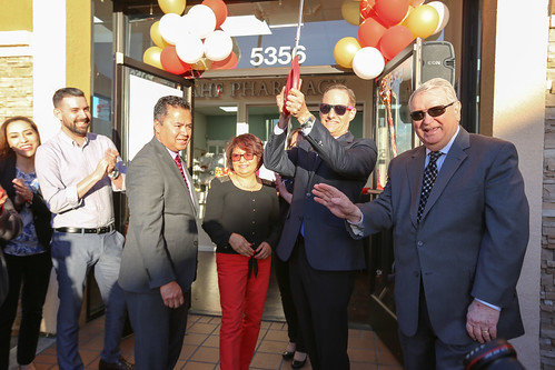 East LA Pharmacy Ribbon-Cutting (3/23/16)
