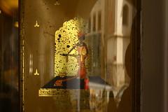 mchten Sie, wer hat noch nicht und warum soll es nicht fr immer sein (raumoberbayern) Tags: light reflection gold golden licht cafe box kaffee spiegelung wasserburg dose robbbilder urbanfragments