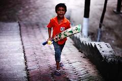 So What ? (N A Y E E M) Tags: boy portrait home backyard bat cricket neighbour bangladesh chittagong azad rabiarahmanlane
