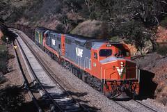 The mighty C class (Bingley Hall) Tags: railroad train transport engine rail railway australia transportation adelaide locomotive southaustralia freight emd vline broadgauge 645e clydeengineering c508 edenhills rpauviccclass rpauviccclassc508 railpage:class=21 railpage:livery=5 railpage:loco=c508