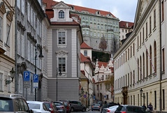 Prague scene (berlinka_lg) Tags: city streets architecture view prague streetphotography prag praha goldencity