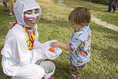 Charming the Easter bunny (quinn.anya) Tags: toddler sam egg sharing easterbunny