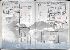 US Passport Multiple Entry/Exit Stamps (Taylor Mc) Tags: usa germany us airport europe unitedstates stamps sarajevo bosnia unitedstatesofamerica croatia stamp bulgaria romania herzegovina exit passport entry visa hercegovina stempel schengen bosna ruse targumures memmingen bosniaandherzegovina klobuk giurgiu kalotina bosnaiherzegovina staragradika