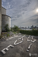 Leave Now! Bite Me! (billmclaugh) Tags: mill abandoned industry photoshop canon rust industrial factory grain explore adobe urbanexploration silos feed hdr highdynamicrange tse lightroom urbex tiltshift on1 markiii 17mm f4l photomatix promotecontrol perfecteffects vitalityfeedmill