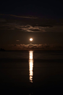 Moon Rise in Labengki
