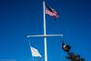 The trinity (kuntheaprum) Tags: snow flag malden aprilfool aprilsnow belrockpark