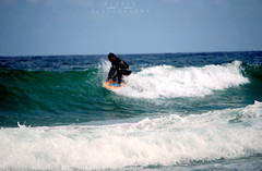Cosas del buen tiempo (A L R O E S) Tags: sea beach surf playa galicia desenfoque lugo bodyboard ribadeo cantbrico playadelascatedrales marialucense galizacalidade