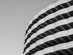 Les Halles (paul sudris) Tags: bw motif monochrome architecture paul noir fuji lyon parking nb fujifilm et blanc btiment halles x20 urbain abstrait bocuse minimaliste courbes minimalisme