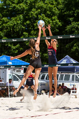 IMG_4890 (EddyG9) Tags: arizona set female women louisiana university outdoor beachvolleyball lsu spike athletes ncaa dig invitational tulane serve 2016 sandvolleyball