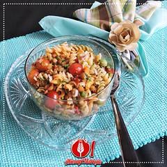 Salada de Macarro com Lentilhas (Almanaque Culinrio) Tags: food recipe comida gastronomia culinria receita