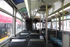 King County Metro Breda Trolley interior (4215) (zargoman) Tags: seattle county travel bus electric king metro trolley transportation transit converted breda articulated kiepe elektrik kingcountymetro highfloor