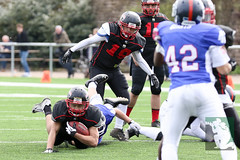 "GFL Juniors Dortmund Giants vs. Düsseldorf Panthers 09.04.2016 010.jpg • <a style=""font-size:0.8em;"" href=""http://www.flickr.com/photos/64442770@N03/26304758706/"" target=""_blank"">View on Flickr</a>"