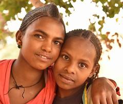House Maids, Ethiopia (Rod Waddington) Tags: africa girls portrait people female outdoor african afrika ethiopia ethnic afrique ethiopian etiopia housemaids ethiopie tigray adigrat