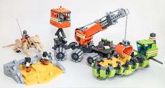 Moon Cheese Miners (Galaktek) Tags: lego space scifi minifig foitsop galaktek