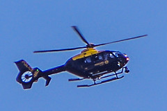 Police Scotland Helicopter 001 (Brian Travelling) Tags: scotland pentax aviation police bluesky helicopter ayrshire northayrshire pentaxkr policescotland