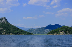 Skadar Lake (Sudhakar Madala) Tags: lake clouds canon photography eos bluewater skadar