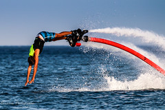Flybording at M'diq - Morocco (Bouhsina Photography) Tags: sea mer ski water sport canon wow vacances nager fly flying holidays action jet morocco maroc boarding ttouan swiming nage plonge nautique loisir 70d flyboard bouhsina ef100400ii bouhsinaphotography