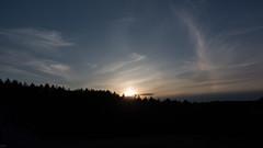 Sun dog. 4.13.16. Montague, MA (koperajoe) Tags: sunset sky weather clouds newengland sundog cirrus westernmass