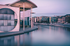 Dusk In The City (philippdase) Tags: longexposure nightphotography berlin germany berlincity governmentdistrict leefilters duskinthecity nikond7100 sigma1835mm18 philippdase