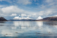 Nesna Helgeland Norway (Einar Schioth) Tags: sea sky cliff cloud mountain lake snow mountains nature sunshine norway clouds canon landscape coast norge photo spring day outdoor ngc picture nationalgeographic helgeland nordland nesna einarschioth