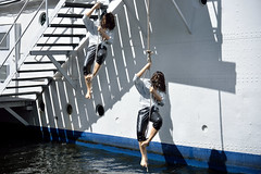 Clone Attack (PHOKUZ.NET) Tags: street water ship sweden stockholm dumbies