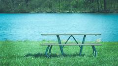 papoose lake. april 2016 (timp37) Tags: park lake table illinois picnic april palos papoose 2016