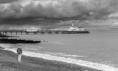 Eastbourne Pier | East Sussex | United Kingdom (Jamie Dean) Tags: sea sky beach water architecture clouds landscape coast pier seaside waves waterfront stormy shore eastbourne groynes